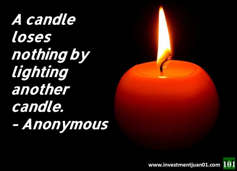 Juan Liners: A Candle Loses Nothing By Lighting Another Candle