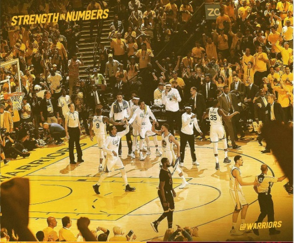 Starting 5: Money & Business Insights from the GS Warriors