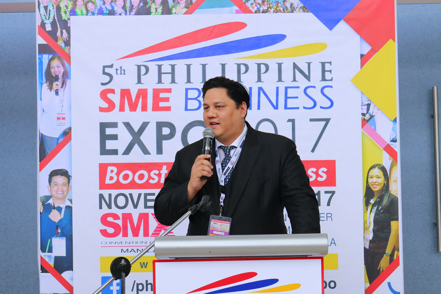 5th Philippine SME Business Expo Successfully Opened this November 3, 2017