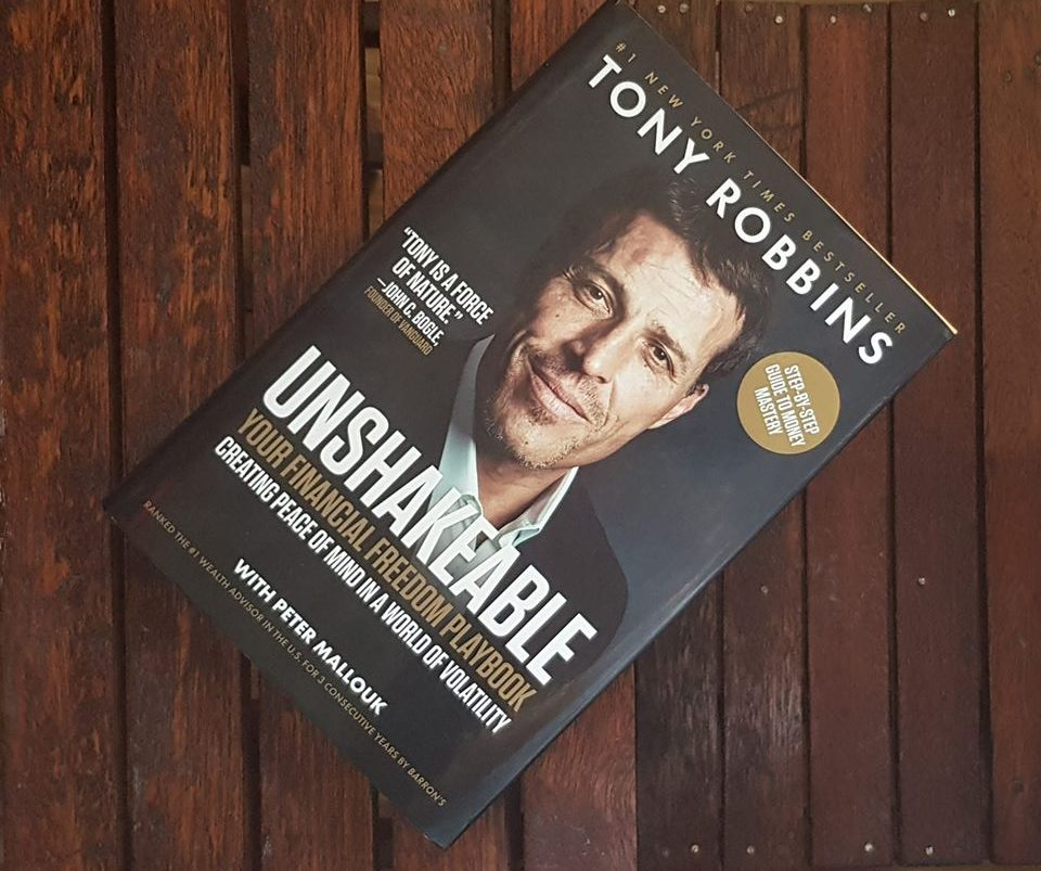 tony robbins unshakeable review
