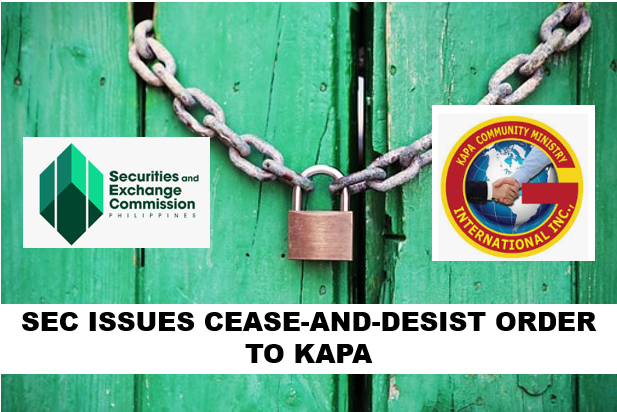 sec cease and desist kapa