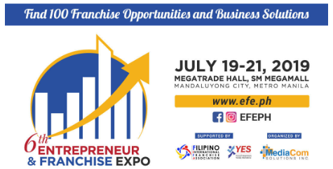 Find 100 Franchise Opportunities & Business Solutions at Entrepreneur and Franchise Expo 2019